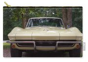 1965 Yellow Corvette Sting Ray  Carry-all Pouch