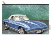 1966 Corvette Rag-top S.r. Carry-all Pouch
