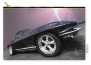 1966 Corvette Stingray With Lightning Carry-all Pouch