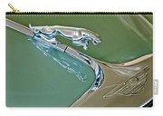 1966 Jaguar Hood Ornament Carry-all Pouch