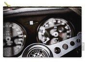1966 Jaguar Xk-e Steering Wheel Emblem -2489ac Carry-all Pouch