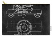 1966 Lawn Mower Patent Image Carry-all Pouch