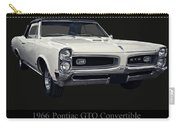 1966 Pontiac Gto Convertible Carry-all Pouch
