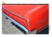 1966 Pontiac Gto Tail Lights And Logos Carry-all Pouch