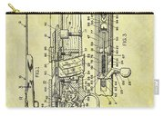 1966 Rifle Patent Carry-all Pouch