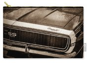 1967 Chevrolet Camaro Ss350 Convertible Grille Emblem -0704s Carry-all Pouch
