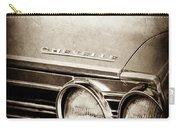 1967 Chevrolet Chevelle Ss Super Sport Emblem -0413s Carry-all Pouch