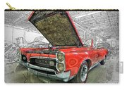 1967 Pontiac Gto American Muscle Car Carry-all Pouch