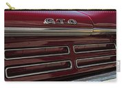 1967 Pontiac Gto Logo Carry-all Pouch