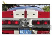 1968 Bad Ass Shelby Mustang Carry-all Pouch by David Lee Thompson