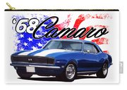 1968 Camaro Stars And Stripes Carry-all Pouch