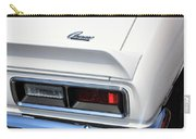 1968 Chevy - Chevrolet Camaro Tail Lights And Logo Carry-all Pouch