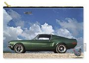 1968 Ford Bullitt Mustang Gt 390 Fastback, P-51 Mustang, Plymouth Rock Chicken Carry-all Pouch