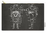 1968 Hard Space Suit Patent Artwork - Gray Carry-all Pouch by Nikki Marie Smith