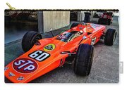 1968 Lotus 56 Turbine Indy Car #60 Angle Carry-all Pouch