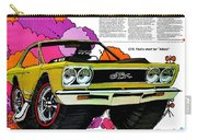 1968 Plymouth Gtx - Adios Carry-all Pouch
