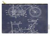 1968 Schwinn Stingray Patent In Blueprint Carry-all Pouch