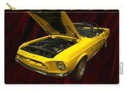 1968 Shelby Gt 500kr Carry-all Pouch