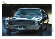 1969 Amx In Racing Green Carry-all Pouch