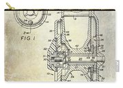 1969 Fly Reel Patent Carry-all Pouch