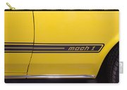 1969 Ford Mustang Mach 1 Logo Carry-all Pouch