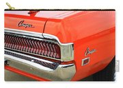 1969 Mercury Cougar Tail Light With Logos Carry-all Pouch