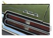 1969 Pontiac Gto Taillight Emblem Carry-all Pouch