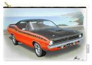 1970 Barracuda Aar  Cuda Classic Muscle Car Carry-all Pouch