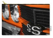 1970 Chevelle Ss396 Ss 396 Orange Carry-all Pouch