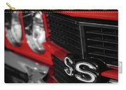 1970 Chevelle Ss396 Ss 396 Red Carry-all Pouch