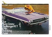 1970 Dodge Challenger Rt Convertible Carry-all Pouch