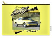 1970 Mach 1 Fellers Carry-all Pouch