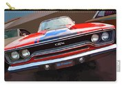 1970 Plymouth Gtx Vectorized Carry-all Pouch