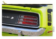 1970 Sublime Green Hemi 'cuda  Carry-all Pouch