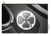 1971 Alfa Romeo Side Emblem -1755bw Carry-all Pouch
