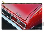 1971 Chevy Nova - Red Carry-all Pouch