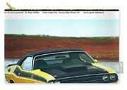 1971 Dodge Challenger T/a Carry-all Pouch
