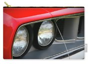 1971 Plymouth Barracuda Cuda Red  Carry-all Pouch