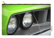 1971 Plymouth Barracuda Cuda Sublime Green Carry-all Pouch