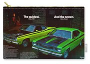 1971 Plymouth Duster 340 And Twister Carry-all Pouch