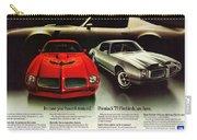 1973 Pontiac Firebird Trans Am  Carry-all Pouch