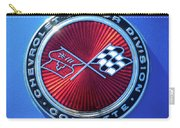 1974 Corvette Sting Ray Convertible Emblem Carry-all Pouch
