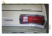 1974 Plymouth Duster Tail Light With Logos Carry-all Pouch