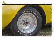 1976 Canary Yellow Vette Wheel Carry-all Pouch