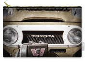 1978 Toyota Land Cruiser Fj40 Grille Emblem -0558ac Carry-all Pouch