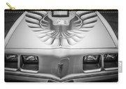 1979 Pontiac Trans Am Hood Firebird -0812bw Carry-all Pouch