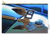 1980 Bentley Hood Ornament Carry-all Pouch by Jill Reger