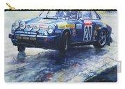 1980 Criterium Lucien Bianchi Porsche Carrera Keller Hoss #20 Carry-all Pouch
