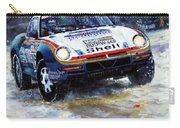 1986 Porsche 959/50 #185 2nd Dakar Rally Raid Ickx, Brasseur Carry-all Pouch