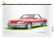 1989 Saleen Mustang Convertible Carry-all Pouch